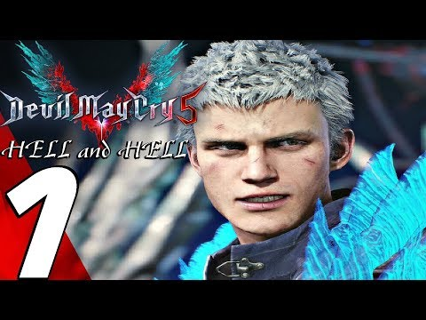DEVIL MAY CRY 5 - Hell and Hell Gameplay Walkthrough Part 1 - Goliath Boss Fight (S RANK)
