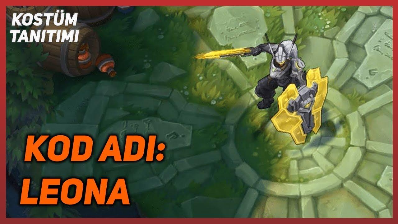 KOD ADI: Leona (Kostüm Tanıtımı) League of Legends