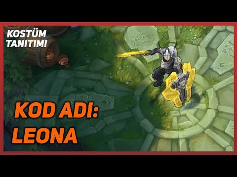 KOD ADI: Leona (Kostüm Tanıtımı) League of Legends