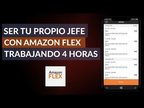 Cómo ser tu Propio jefe con Amazon Flex Trabajando 4 Horas al día