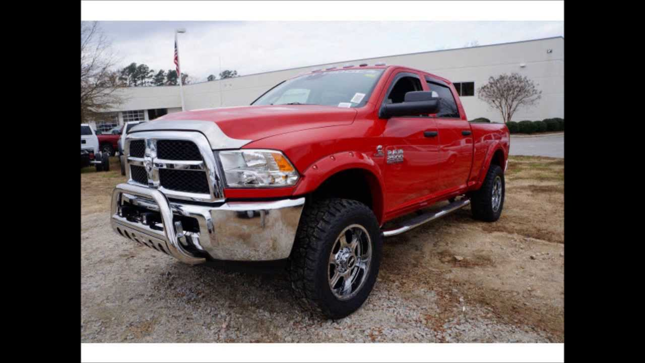 lifted 2014 ram 2500 diesel tradesman rocky ridge altitude - Dodge Ram 2500 2014 Red
