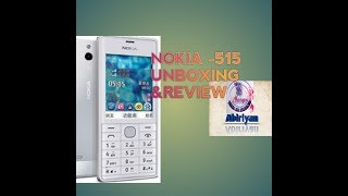 Nokia 515 unboxing & review