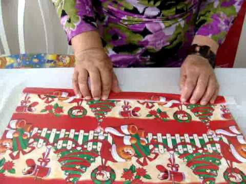 Como hacer bolsas con papel regalo youtube - Como hacer bolsas de regalo ...