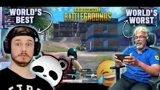 PANDA reacts to DAD's Pubg Gameplay 😂