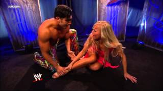 Fandango and Summer Rae dance backstage - App Exclusive 17th May, 2013