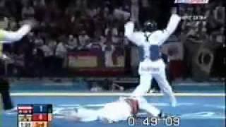 04-116-026-Football-7-Paralympic-Sport-Pictogram-Pin-Athens-2004 2004 Athens Taekwondo