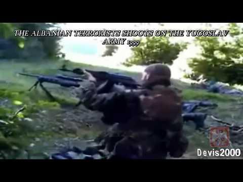 2010 - Yugoslav Army kills the Albanian terrorists 1999 - (152mm Field Gun Howitzer M84 NORA)