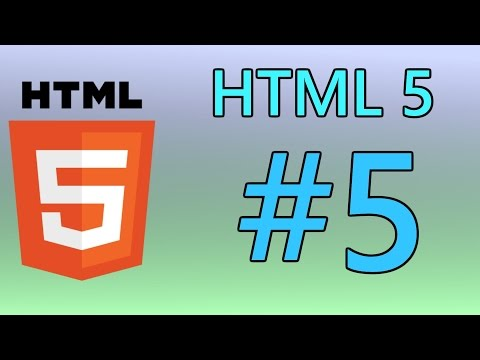 HTML5 Tutorial 5 - The Head & Styling