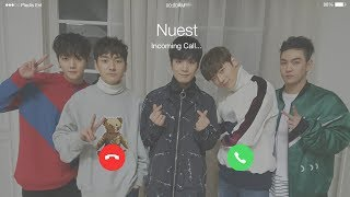 Nuest(뉴이스트) - Hello (여보세요) (2017 ver.) Lyrics (Eng/Han/Rom) [Phone Call]