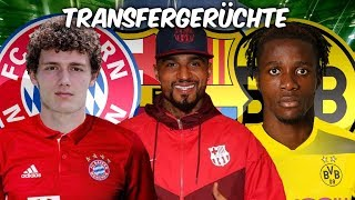 Pavard im Winter zu Bayern ? Zaha zum BVB ? Boateng zu Barca !   Transfers und Transfergerüchte 2019