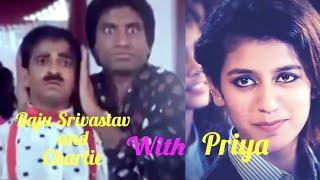 Priya Prakash & Raju Srivastav funny clip / By AFC /