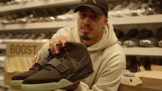my entire sneaker collection inside rif sf must see