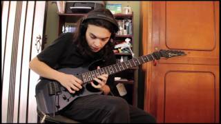 Steve Vai Style - Guitar Solo Performance by Daniel Molina Henao