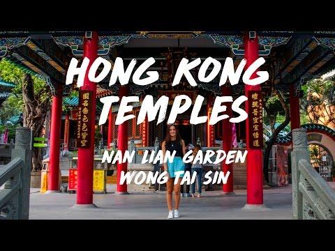 HONG KONG TEMPLES: Nan Lian, Wong Tai Sin (Vlog3)