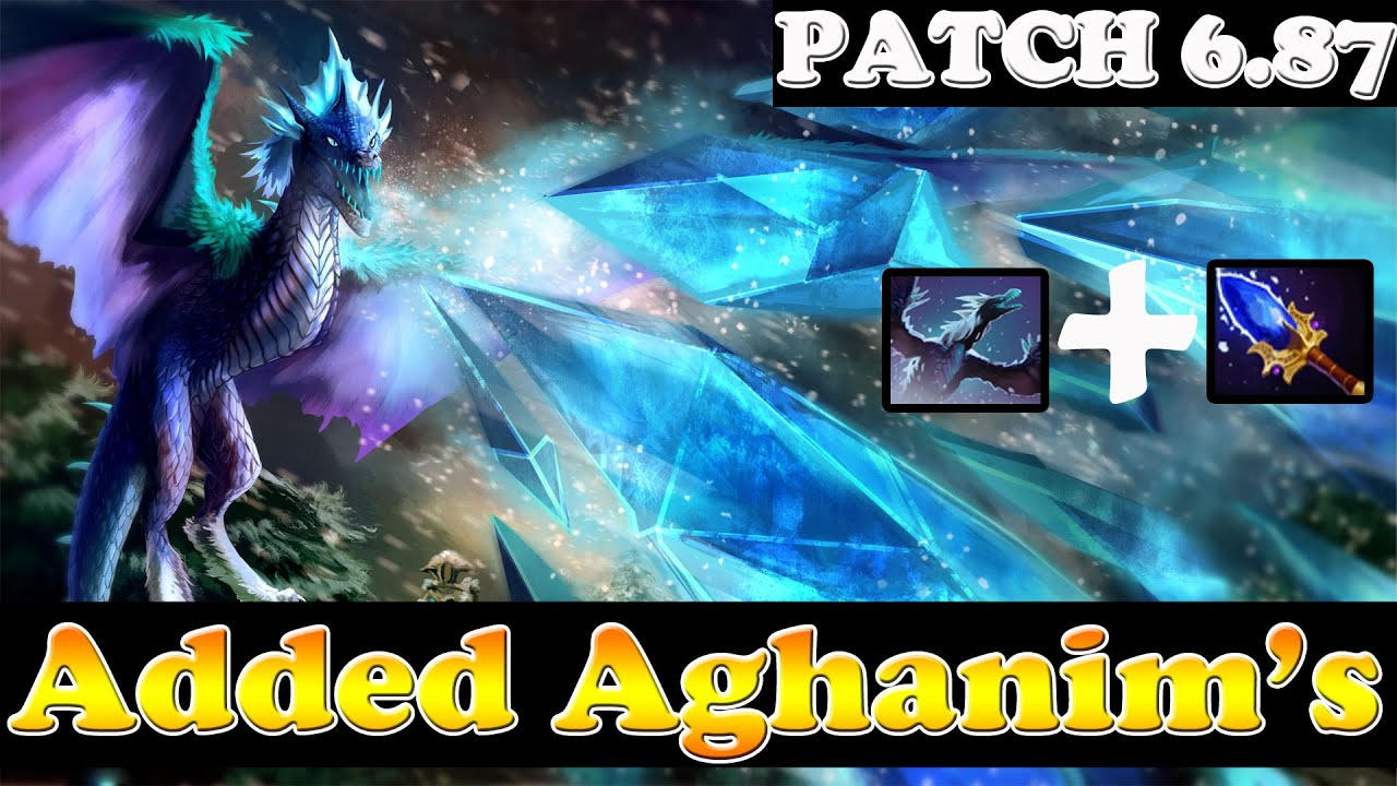 Dota 2 - Patch: 6.87 - Added Aghanim's to Winter Wyvern - Skill Changes