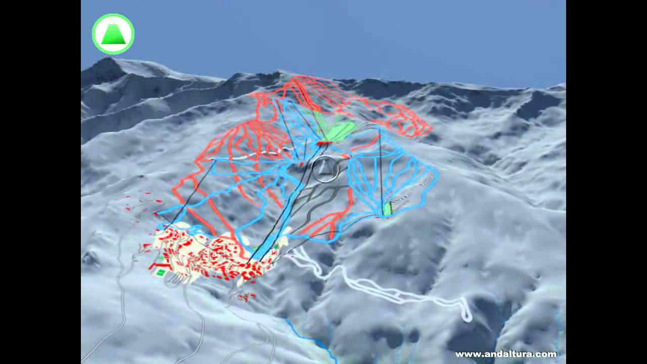 Mapa De Pistas De Sierra Nevada Temporada 2014 2015 Youtube