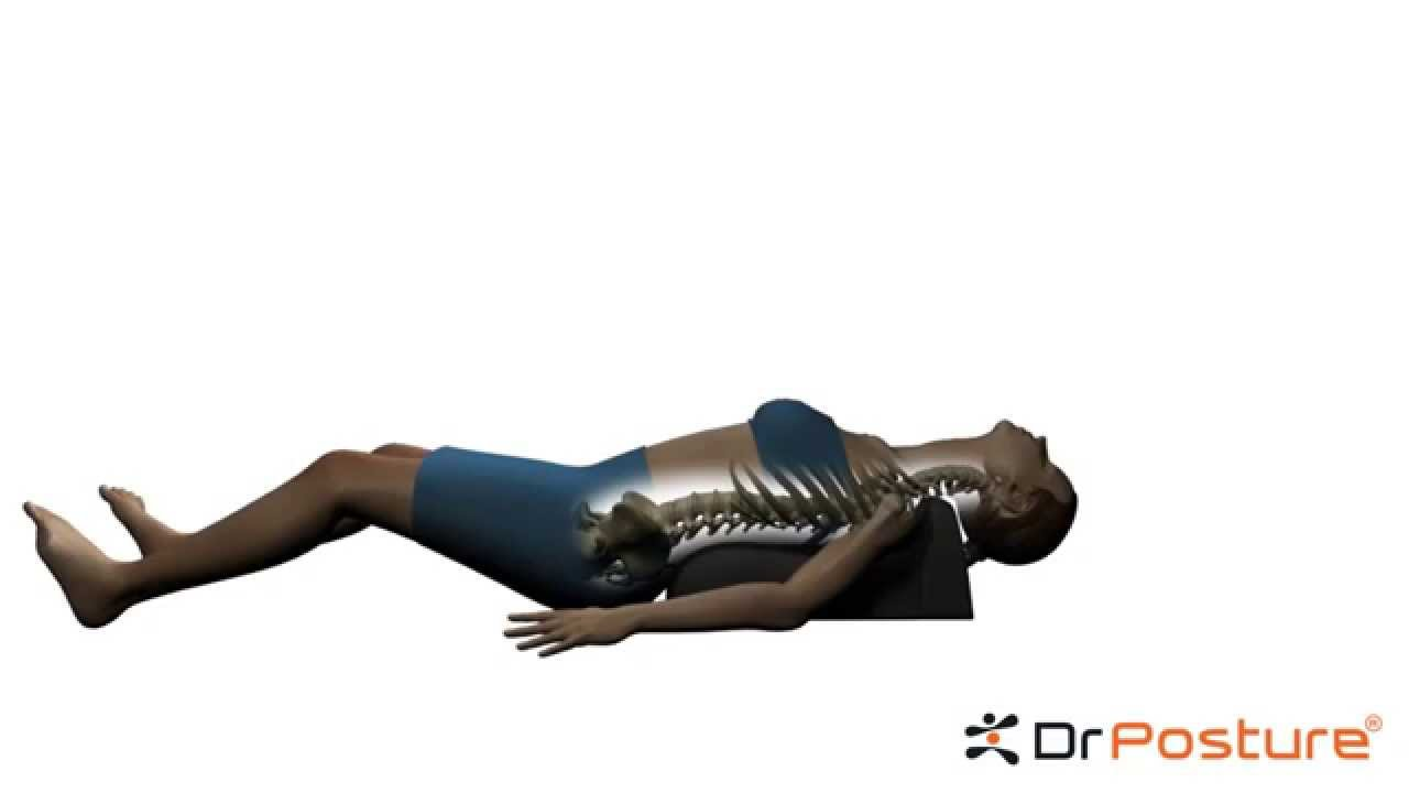 Body Postition On Thoracic Pillow Youtube