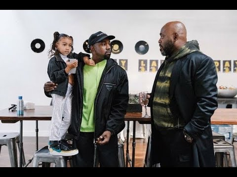 Kanye West and North West Support Steve Stoute At His Launch Event Mp3