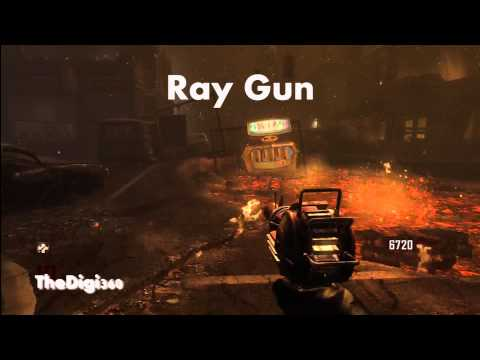 Call of Duty Black Ops 2 Zombies All Guns Upgraded