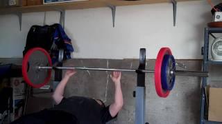 Bench Press 195 lbs - Max Effort PR