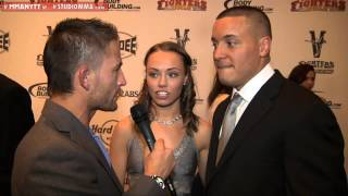 Interview with Pat Barry & Rose Namajunas at the MMA AWARDS 2012