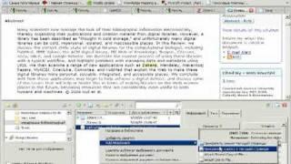 Управления библиографической информацией  Zotero(Программное обеспечение для управления библиографической информацией Zotero В ходе научной работы Вы накап..., 2009-11-06T08:40:13.000Z)