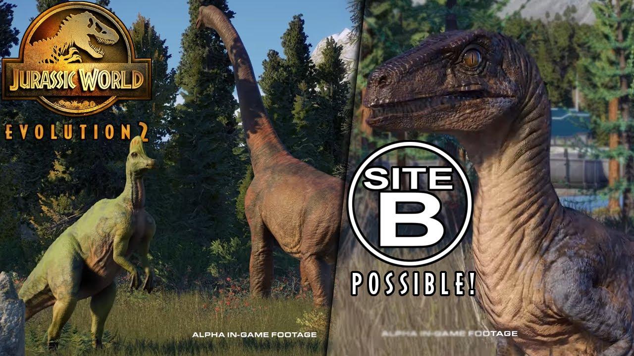 SITE B GAME MODE? Time To Unlock Things In Sandbox Again...! - Jurassic World: Evolution 2 News!