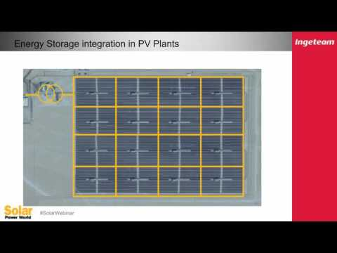 Power Management At Large PV Plants With ESS
