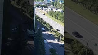 В Чебоксарах неизвестный насмерть сбил женщину и уехал с места аварии