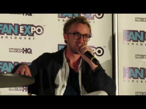 Tom Felton - Fan Expo Vancouver 2016 - Panel