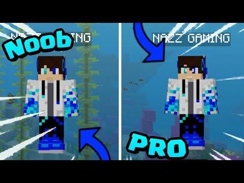 Cara Membuat Skin Minecraft 4d Di Android Tutorial Minecraft Youtube