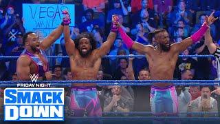 Kofi Kingston pins AJ Styles as New Day takes down The O.C. | FRIDAY NIGHT SMACKDOWN