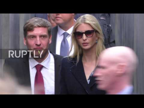 Germany: Ivanka Trump pays her respects at Holocaust Memorial in Berlin