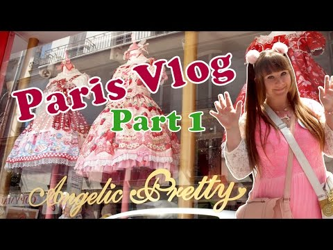 Paris Vlog ✧ Shopping at Angelic Pretty and Axes Femme