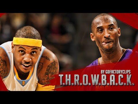 Throwback: Kobe Bryant vs Carmelo Anthony Full Duel Highlights 2010.02.28 Lakers vs Nuggets