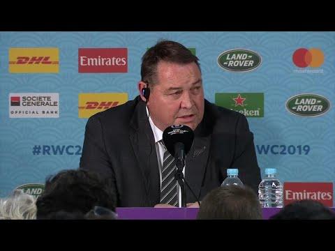 Steve Hansen reflects on England's win over New Zealand