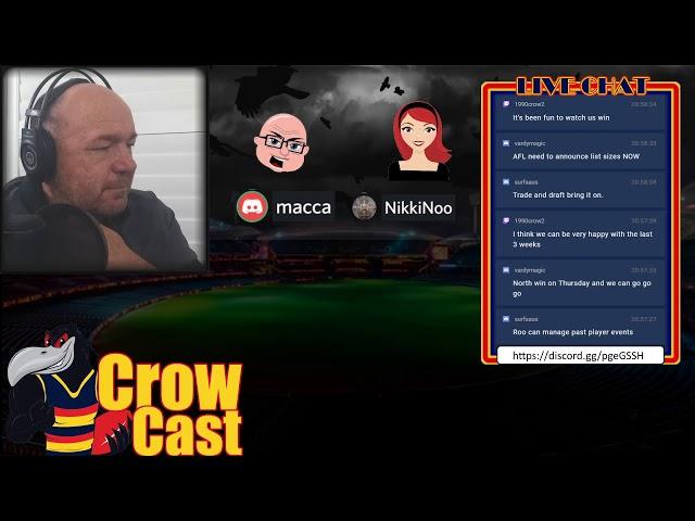 CrowCast Weekend Wrap 2020  Round 17 v Carlton