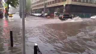 Москву вновь затопило, кто виноват?