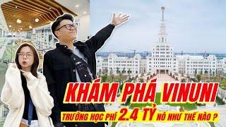 Vlog Mi Sơn : Khám phá ĐH VinUni - Học phí 2.4 tỷ chỉ cho richkid ?