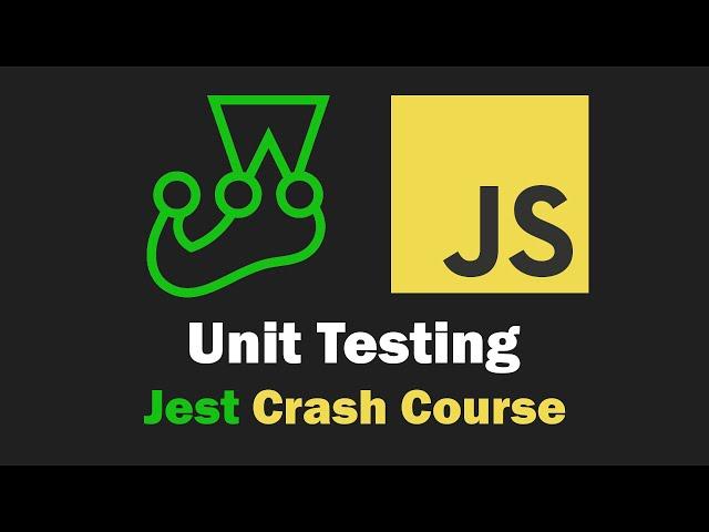 Unit Testing Crash Course - JavaScript with Jest