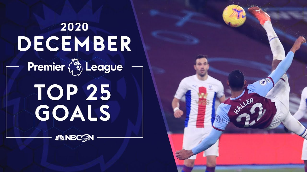 Download Top 25 Premier League goals from December 2020 | NBC Sports