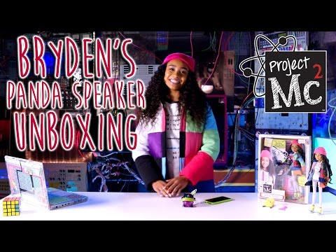 Project Mc²  Bryden Bandweth's Panda Speaker  Doll  Cast Unboxing: Genneya Walton