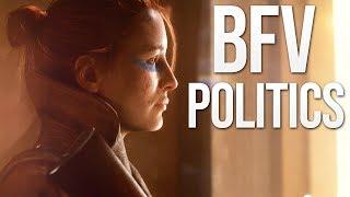 Battlefield V: Politics, SJW, Women, & Chat Filter