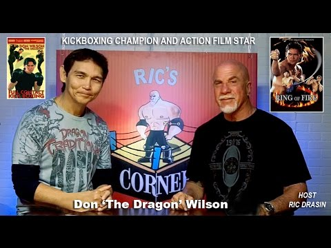 DON THE DRAGON WILSON, KICK BOXING CHAMPION AND ACTION FILM STAR