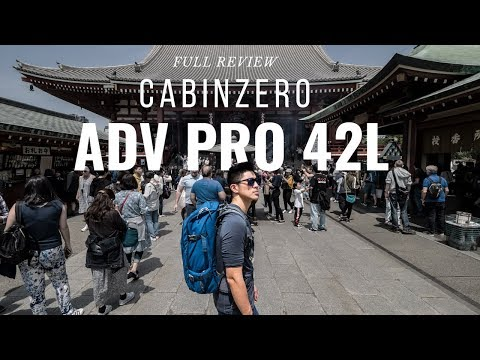 Download CabinZero ADV Pro 42L Travel Backpack Review | Does it cut it for travel photography?