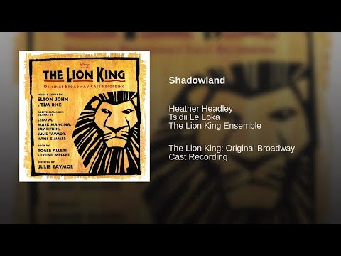 The Lion King Musical - Shadowland lyrics (with Korean subs)