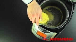 Мультиварка REDMOND RMC-M4502 Каша пшенная