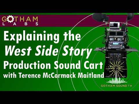 Explaining The West Side Story Production Sound Cart With Terence McCormack Maitland