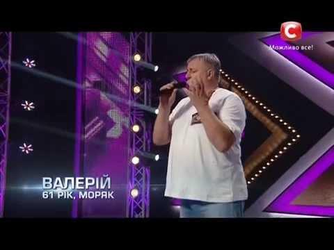 Видео, Х-фактор-5 Валерий Кожевников - Только раз бывают в жизни встречи романс  Одесса 30.08.2014