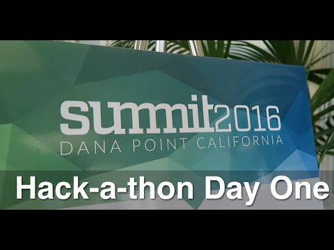 eMoney Advisor Summit 2016: Hack-a-thon Day One